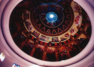 Construction of La Pieta Memorial Chapel