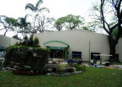 Proposed Mimosa Convention Hall (renovation of an existing warehouse)