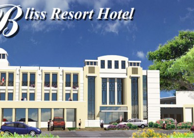Construction of Bliss Resort Hotel