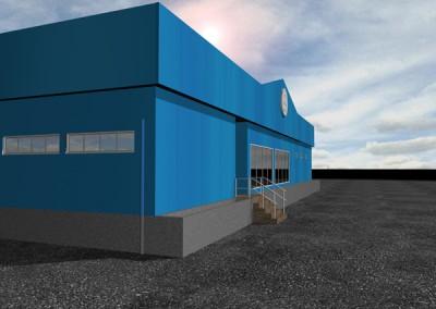 Construction of Industrial Building No. 20