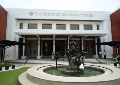 University of the Assumption Facade Renovation