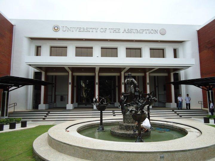 University Of The Assumption Facade Renovation Ligaya